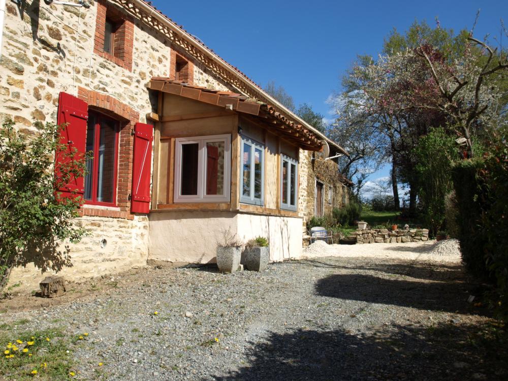Huizenruil: Vrijstaand huis in Darnac