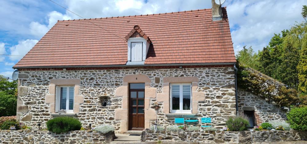 Huizenruil: Vrijstaand huis in Voussac
