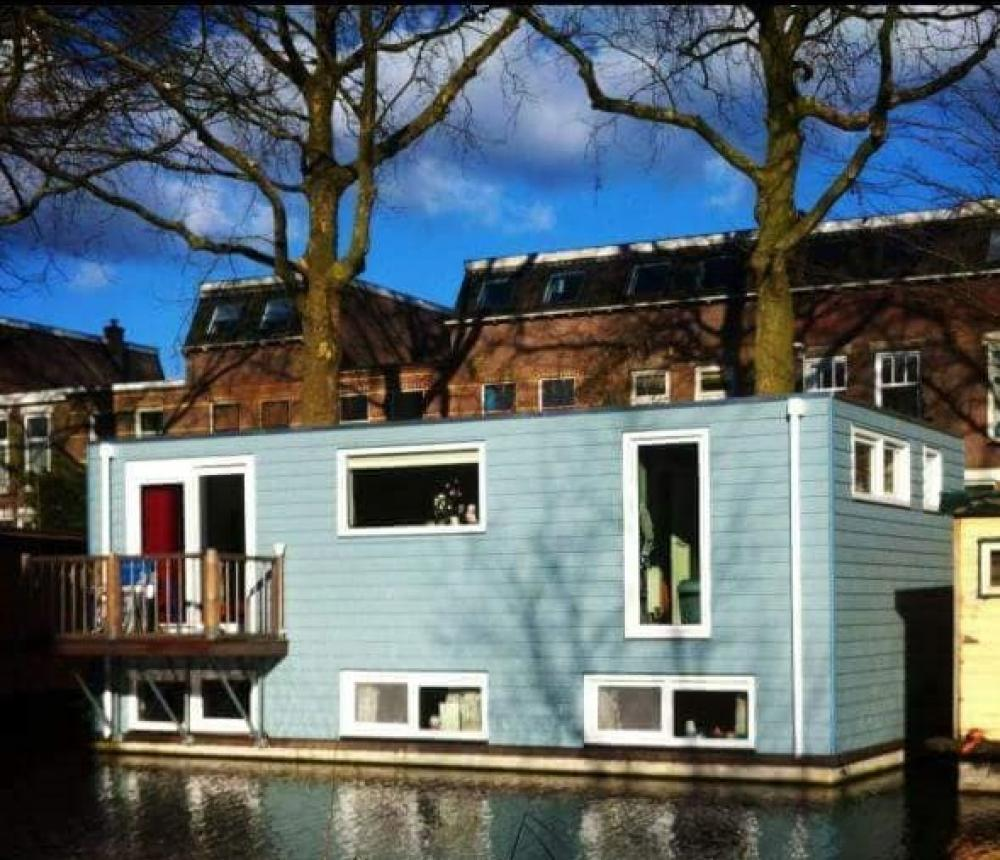Huizenruil: Woonboot in Utrecht